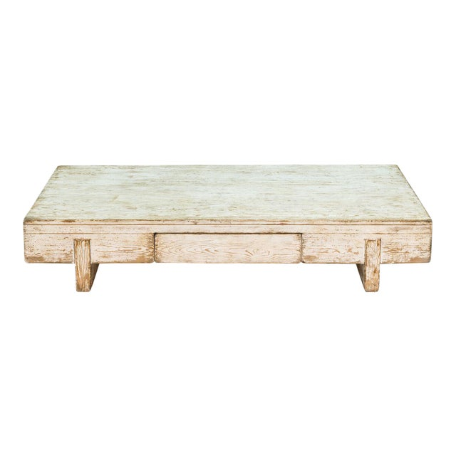 Sarreid Ltd Perth White Coffee Table - Image 1 of 8