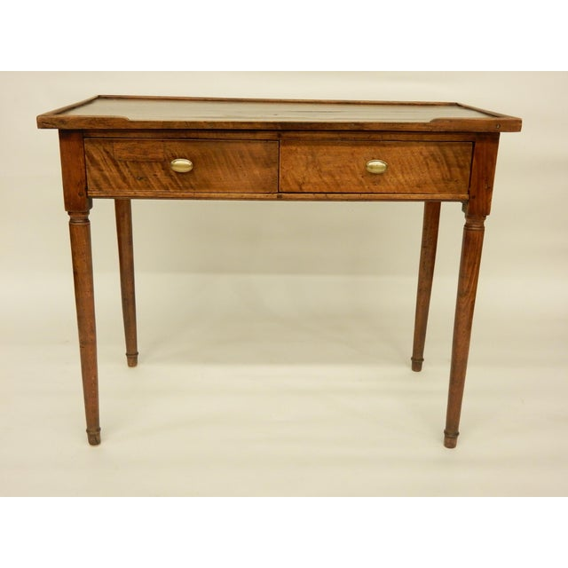 18th C. French Provincial Walnut Side Table For Sale - Image 9 of 9