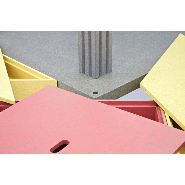 1980s Massimo Morozzi Tangram Tables for Cassina, 1983 For Sale - Image 5 of 8