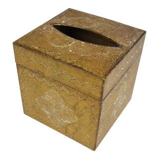 Florentine Gilded Tissue Box Cover