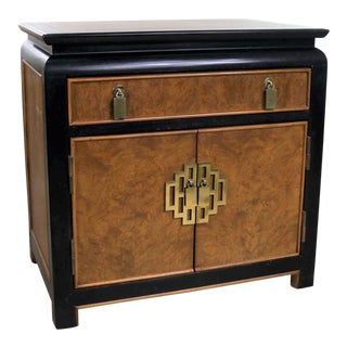 Chin Hua Night Stand or End Table Cabinet by Raymond K. Sobota for Century Furniture For Sale