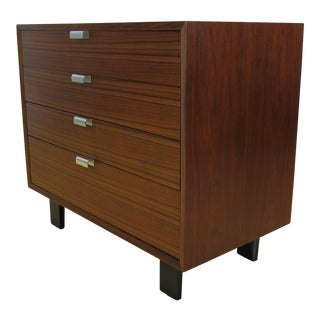 1950s George Nelson for Herman Miller Walnut Dresser