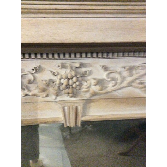Mid 19th Century Mid-19th Century Architectural Mirror With Carved Fruit For Sale - Image 5 of 9