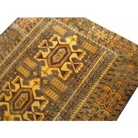 "100% Wool Tribal Rug - 3' 8"" X 5' 10"" - Image 3 of 4"