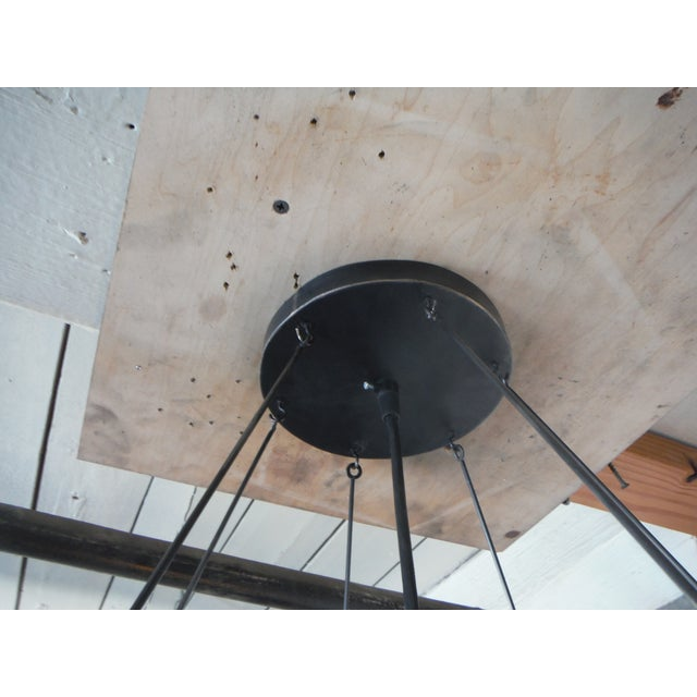 Contemporary Truncated Icosahedron Pendant Light For Sale - Image 3 of 4