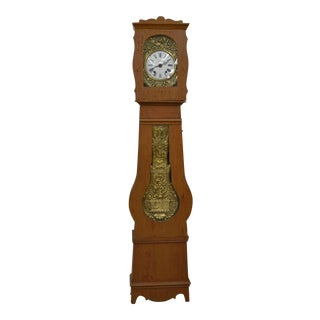 French Pine Longcase Clock 'Mock Clock' For Sale