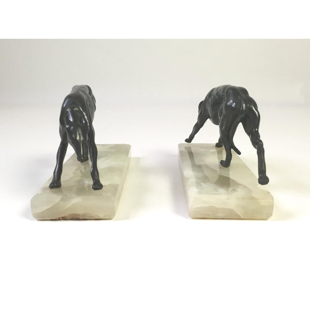 1930s Greyhound Bookends - A Pair - Image 5 of 6