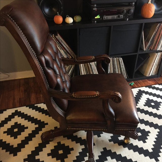 Hancock & Moore Editor's Chair - Image 4 of 8