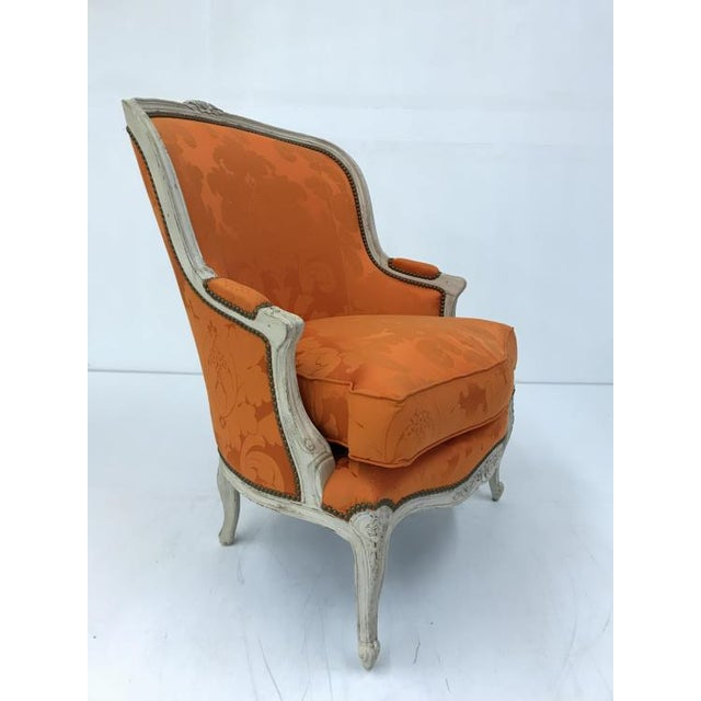 Transitional Century Furniture Grande Duke Chair For Sale - Image 3 of 5