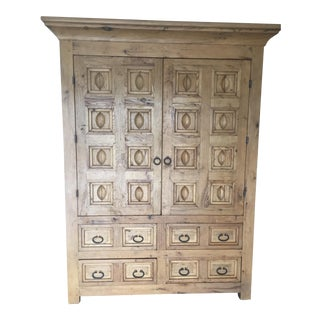 Artisan Solid Wood Armoire