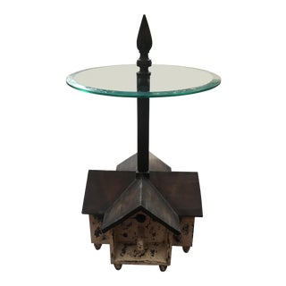 Guildmaster Birdhouse Side Table