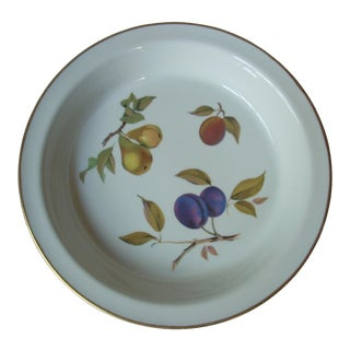 1970s Vintage Evesham Pie Plate For Sale