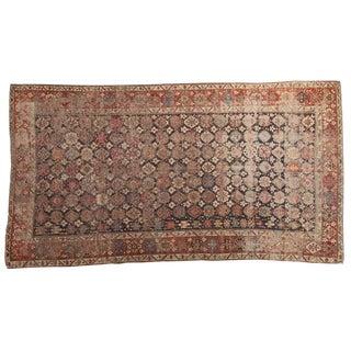 """Antique Caucasian Distressed Carpet - 6'3"""" x 11'5"""""""