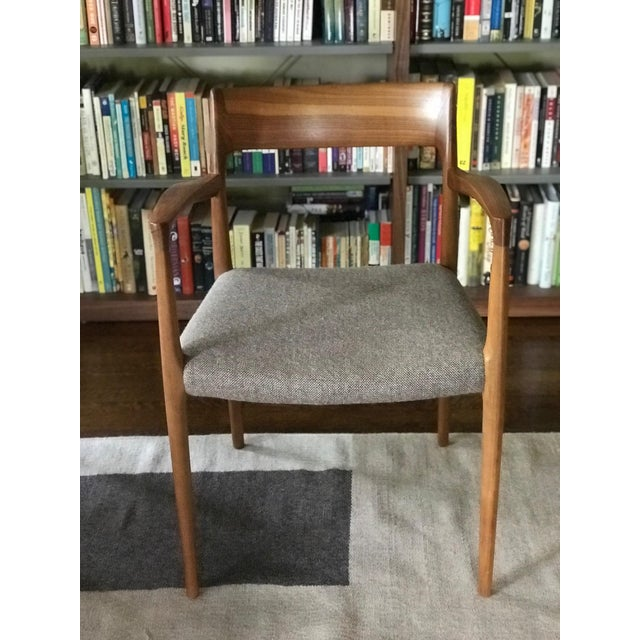 Mid-Century Modern Niels Moller #57 Armchairs - a Pair For Sale - Image 3 of 11