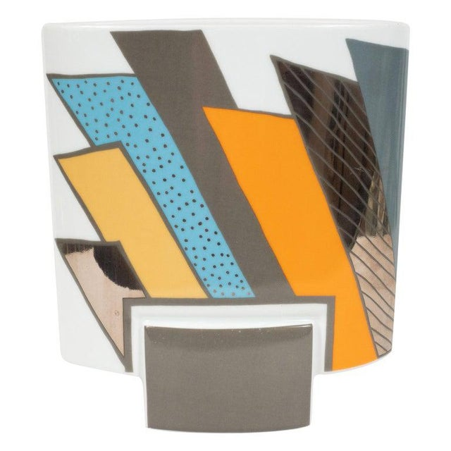 Mid-Century Porcelain Vase by Michael Boehm & Rosemonde Nairac for Rosenthal For Sale - Image 11 of 11