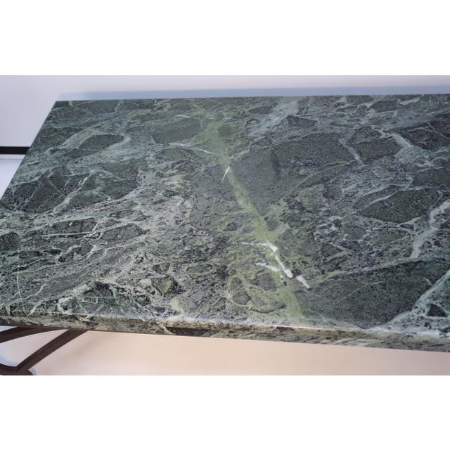 Italian Marble Table For Sale - Image 9 of 10