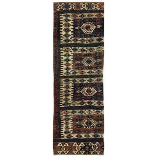Rug & Relic Antique Aydin Kilim Runner | 3 X 9'6 For Sale