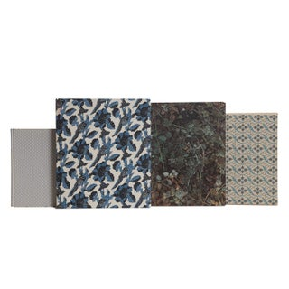 Woven Floral Coffee Table Set Preview