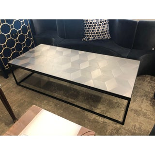 Geometric Pattern Metal Coffee Table Preview