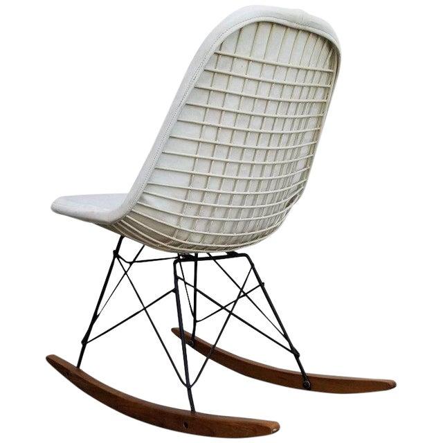 Eames Wire Seat Rkr Rocker For Sale