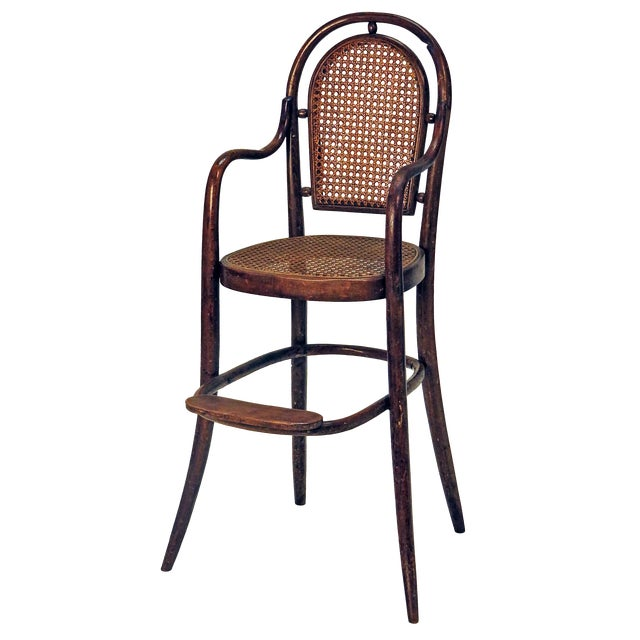 1900s Rare Child Thonet Chair For Sale