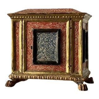 19th Century Miniature Italian Cabinet For Sale