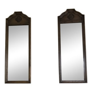 20th Century Traditional Thomasville Mirrors - a Pair For Sale