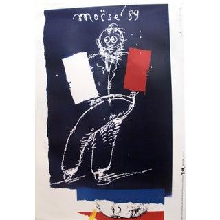 1989 Original Poster for Artis 89's Images Internationales Pour Les Droits De l'Homme Et Du Citoyen - Moïse '89 For Sale