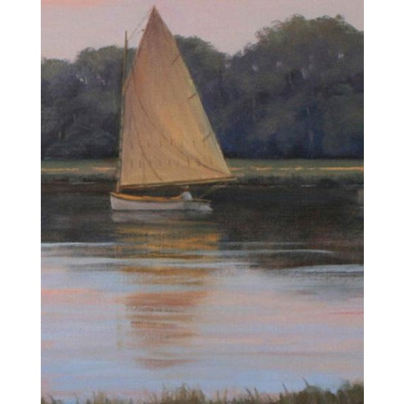 Impressionism Ronald Tinney, Hushed, 2013 For Sale - Image 3 of 6