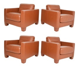 Image of Contemporary Club Chairs