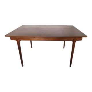 1960s Danish Modern Teak Arne Vodder for Vamo Sonderborg Dining Table For Sale