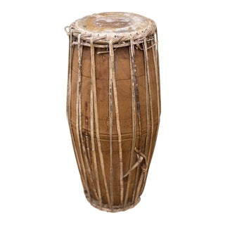 Antique African Bongo Drum