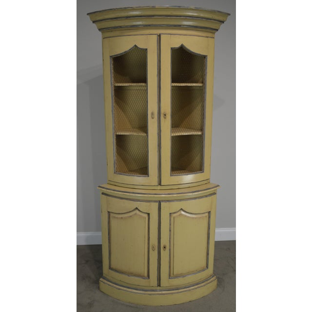 French French Country Style Corner Cabinet For Sale - Image 3 of 13