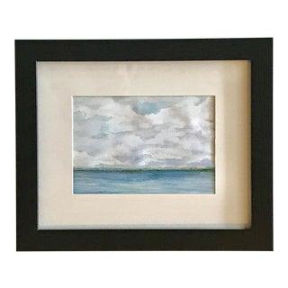 """The Lake I"" Original Abstract Painting"