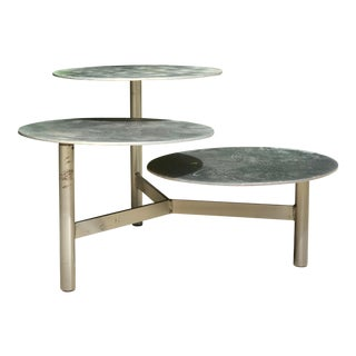 Three Tier Steel Side Table Plant Stand For Sale
