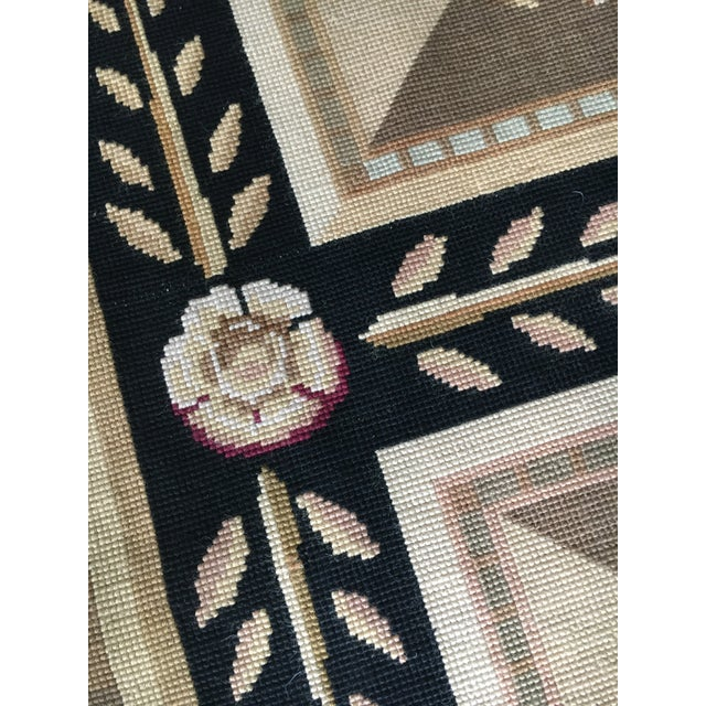 Stark Aubusson Rug- 6′ × 9′3″ For Sale In Baltimore - Image 6 of 13
