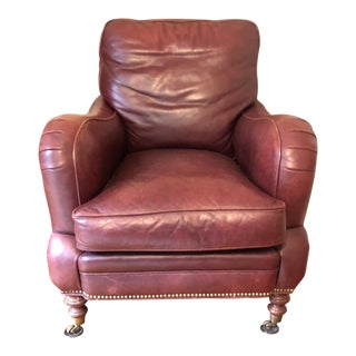Whittemore-Sherrill Ltd Leather Club Chair