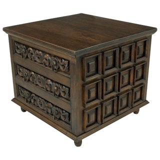 Artisan Handcrafted Artes De Mexico Three-Drawer Commode For Sale