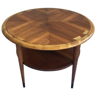 Mid-Century Modern Lane Acclaim Round End Table For Sale