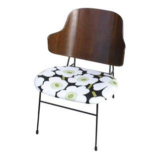 Ib Kofod Larsen 'Penguin' Chair with Marimekko Fabric