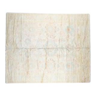 Traditional Handmade Wool Oushak Rug - 8' x 10'