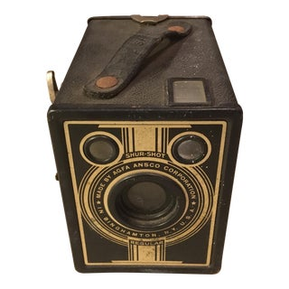 Vintage Ansco Shur-Shot Camera For Sale