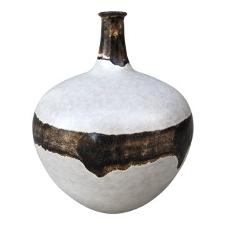 Italy 1960s Alvino Bagni for Raymor Bitossi Ceramic Vase For Sale