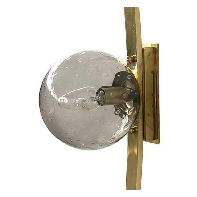 Brass Cresta Sconce by Fabio Ltd For Sale - Image 7 of 12