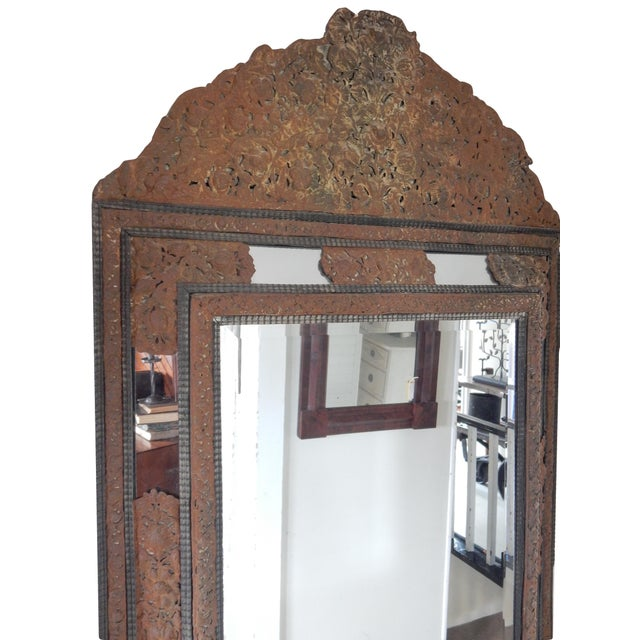 18th Century Dutch Baroque Mirror For Sale - Image 4 of 10