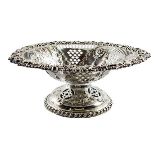 Ellis Barker Silverplate Compote For Sale