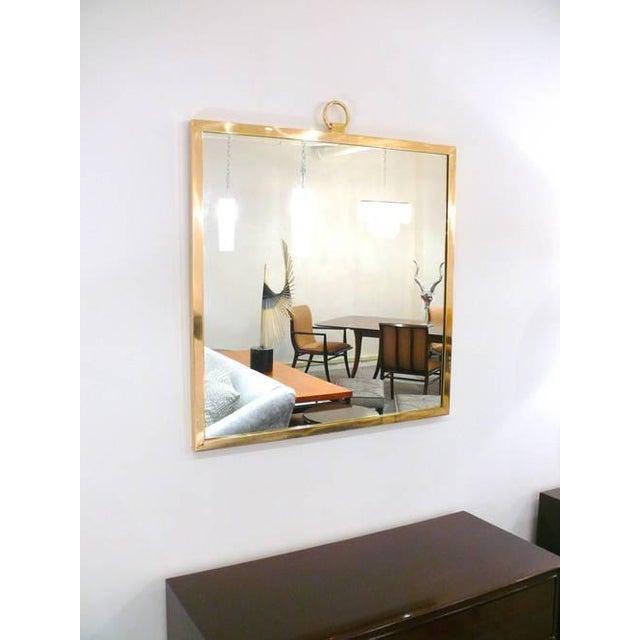 CF Modern Custom Solid Brass Square Mirror - Image 5 of 6