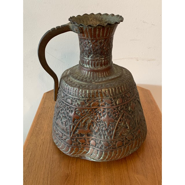 Antique Turkish Water Jugs - a Pair For Sale - Image 10 of 12