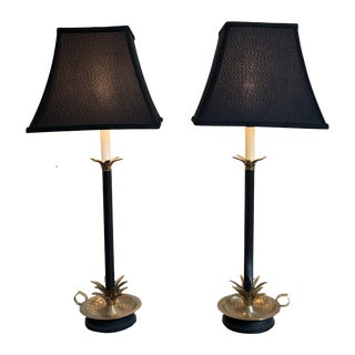 Frederick Cooper Pineapple Lamps - A Pair