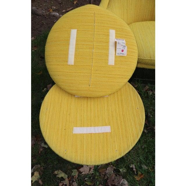 1966 Vintage Warren Platner for Knoll International Easy Chair & Ottoman For Sale In New York - Image 6 of 10